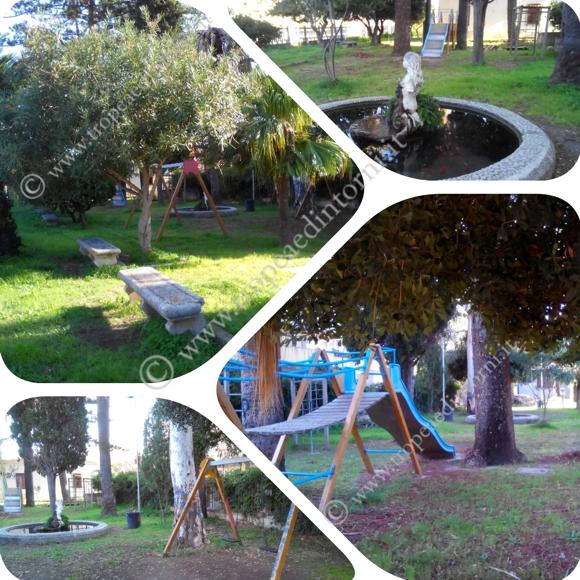 Parco giochi in Viale Stazione a Tropea - foto Libertino