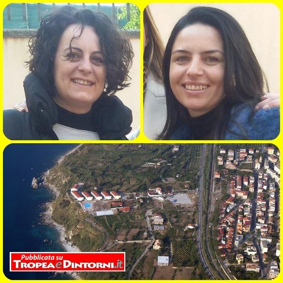 Parghelia: Il Vice Sindaco ed Assessore ai LL.PP. Arch. Romina Loiacono - L'Assessore al Turismo e Cultura Dott.ssa Anna Sambiase