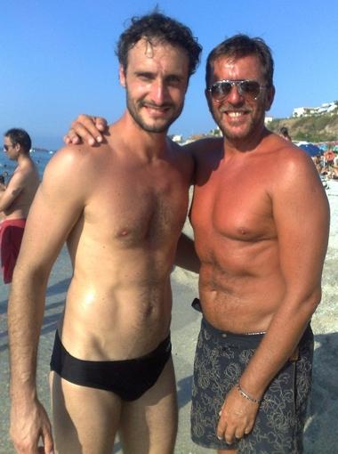 Pietro Genuardi e Jgor Barbazza - foto Apriceno