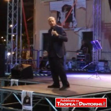 Pippo Franco, spettacolo in Piazza Vittorio Veneto a Tropea il 12 agosto 2016