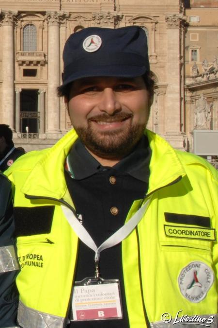 Il coordinatore del gruppo comunale Antonio Piserà - foto Libertino