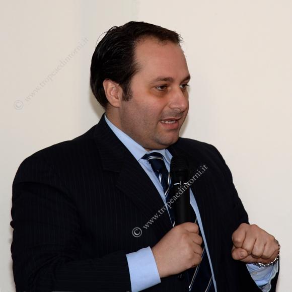 Antonio Piserà, Referente Provinciale di Vibo Valentia - foto Stroe