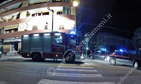 Tropea: Pompieri in Via Libertà - foto Stroe
