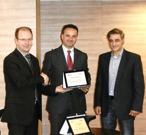 Premio Comuni Innovatori Sindaco Barbalace e Ass. Fiamingo
