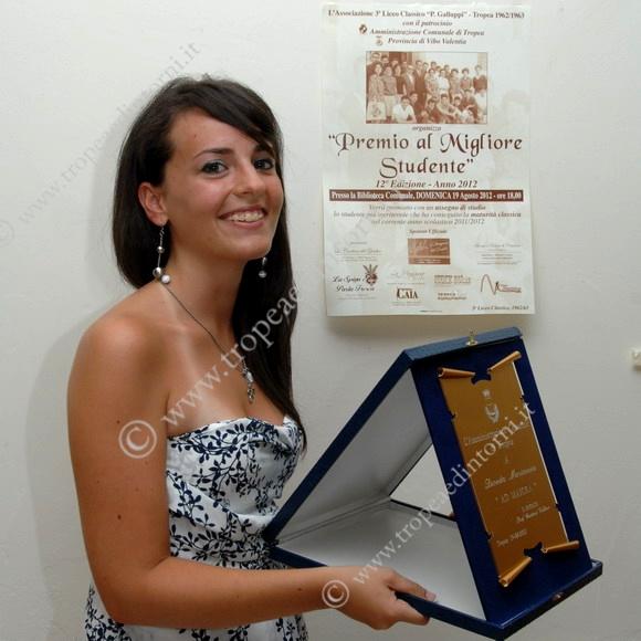 La premiata Marianna Dicosta - foto Libertino