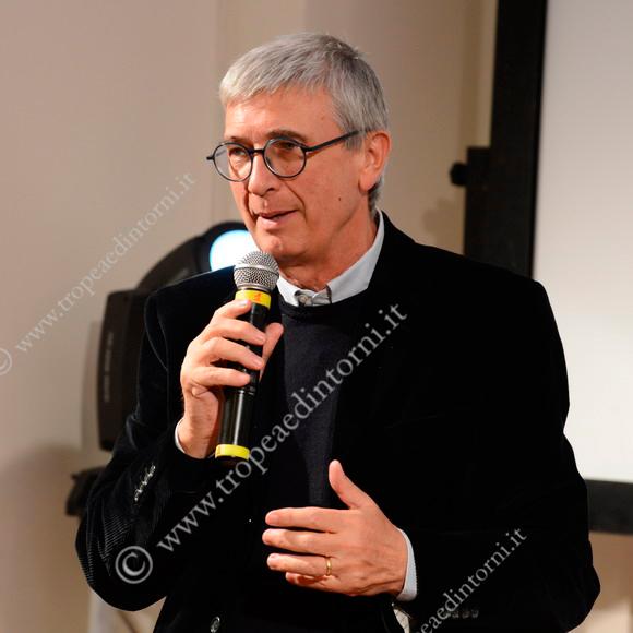 Gilberto Floriani durante una delle ultime serate finali dello scorso anno