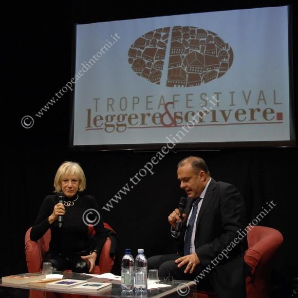Pasqualino Pandullo intervista Lidia Racere - foto Libertino