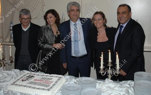 Gilberto Floriani, Maria Faragò, Mimmo Gangemi, Livia Blasi, Pasqualino Pandullo - foto Libertino