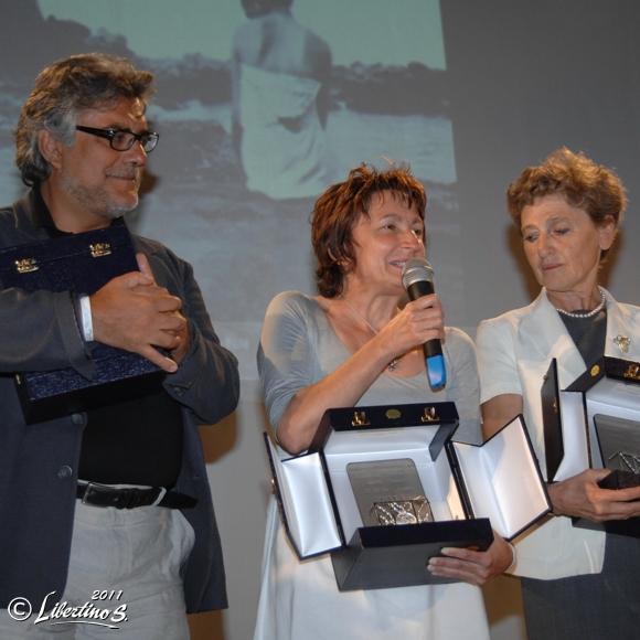 De Cataldo, Di Pietrantonio, Morazzini - foto Libertino