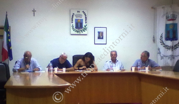 Tavolo relatori: presentato il libro di Enzo Ciconte ed. Rubbettino - foto Barritta