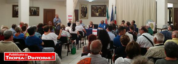 Presso la biblioteca comunale di Tropea è stato tenuto a battesimo il nuovo libro della giornalista Vittoria Saccà