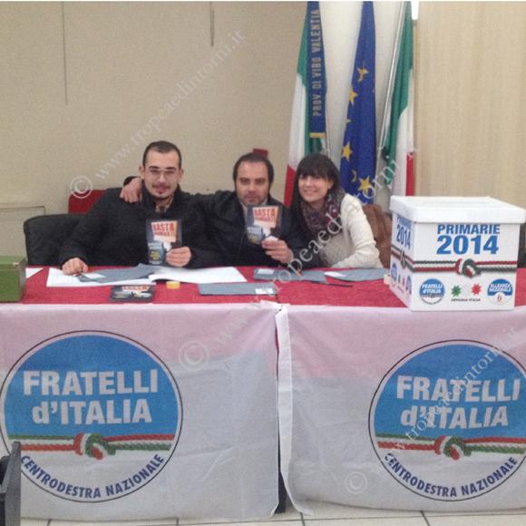 Le primarie  per il Congresso Nazionale di Fratelli d'Italia