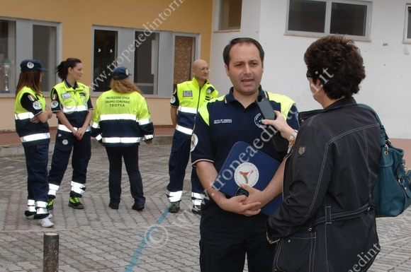 Esercitazione Protezione Civile Tropea