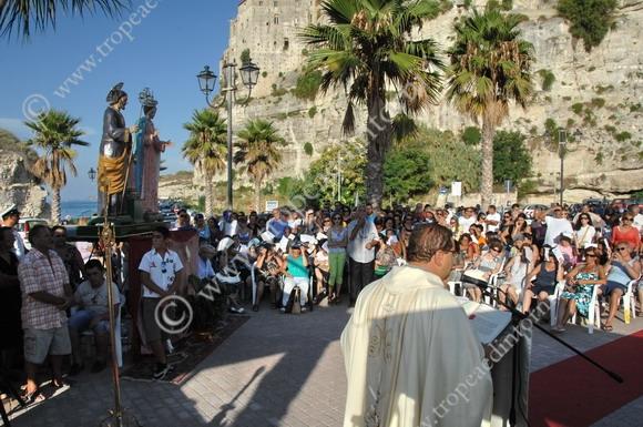 Tropea, processione Statue della Sacra Famiglia ed 2011 - foto Libertino