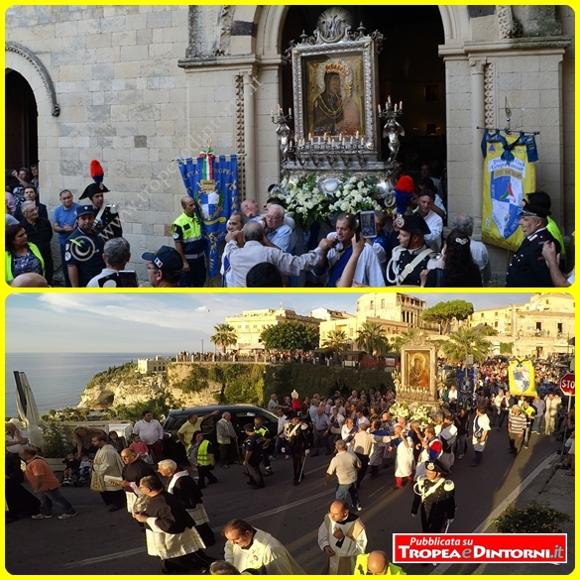 La processione della Madonna di Romania del 4 ottobre 2015 - foto Stroe