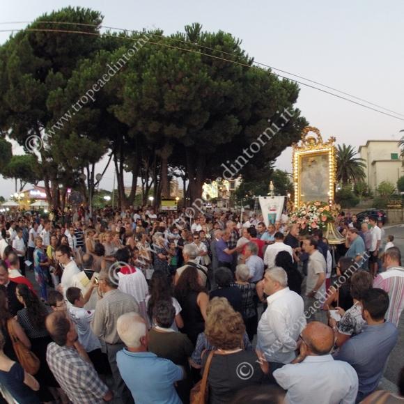 Parghelia: Processione Madonna di Portosalvo - foto Libertino