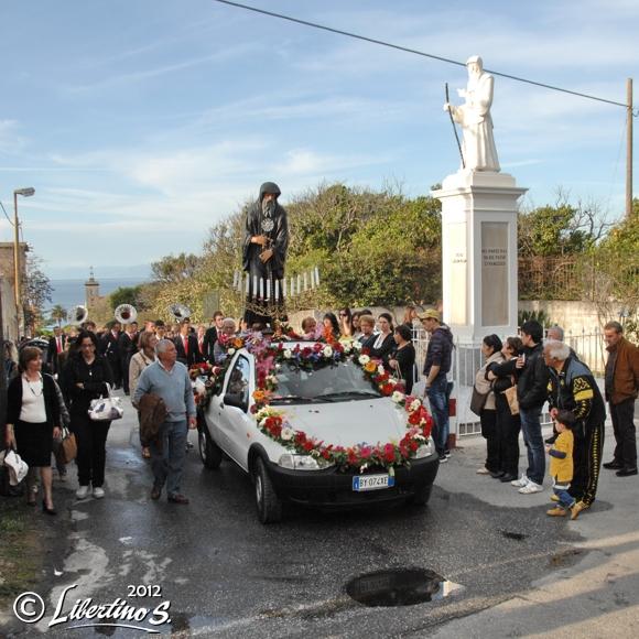 Tropea, processione di San Francesco - foto libertino