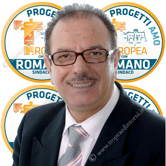 """Giuseppe Maria Romano, rappresentante consiliare della compagine politica """"Progettiamo Tropea"""""""
