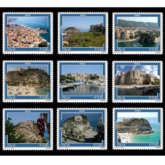 Le nove immagini dell'archivio del fotografo tropeano Salvatore Libertino inviate all'Istituto Poligrafico e Zecca dello Stato