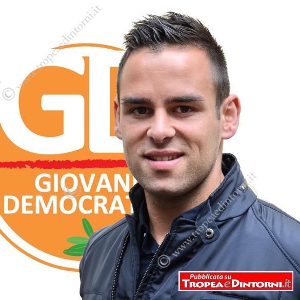 Riccardo Naccari, Segretario Provinciale dei Giovani Democratici - foto Libertino