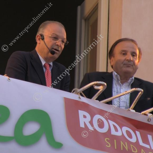 Giuseppe Rodolico, Domenico Tropeano - foto Libertino