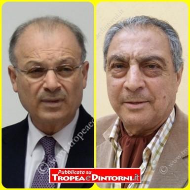 Il Sindaco Dr. Giuseppe Rodolico, Dr. Tino Mazzitelli - foto Libertino