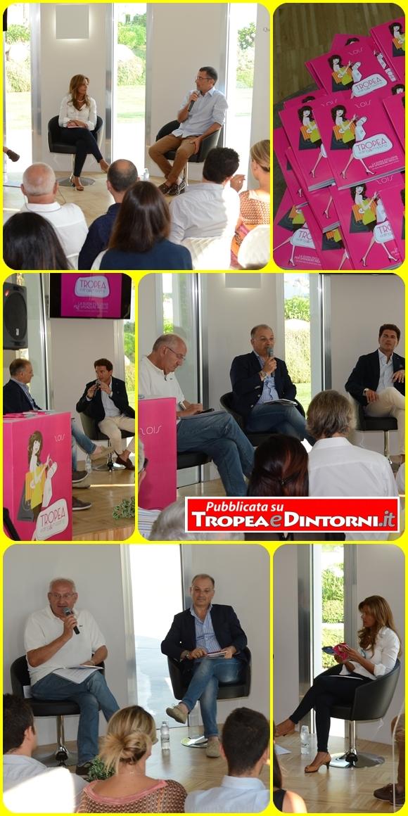 Alcuni momenti della conferenza - foto Libertino