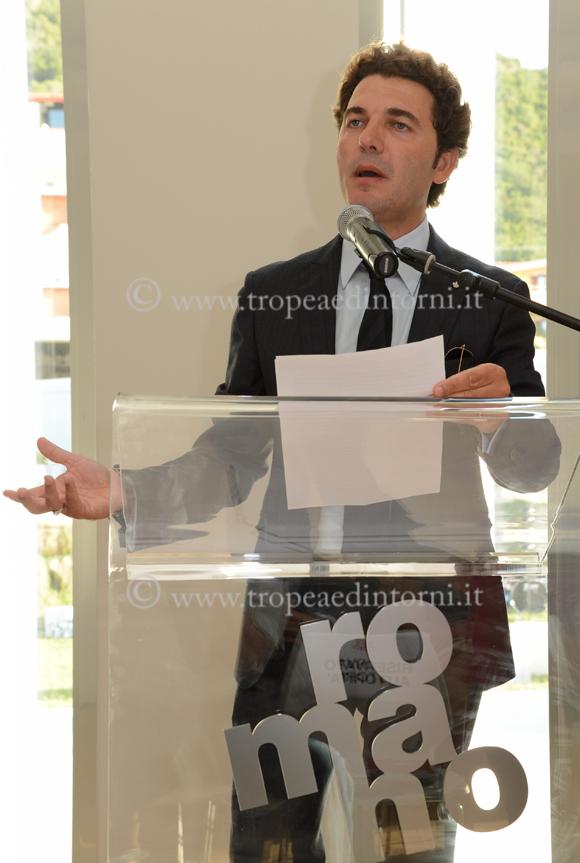 Mario Romano, amministratore unico della Romano Arti Grafiche di Tropea - foto Libertino
