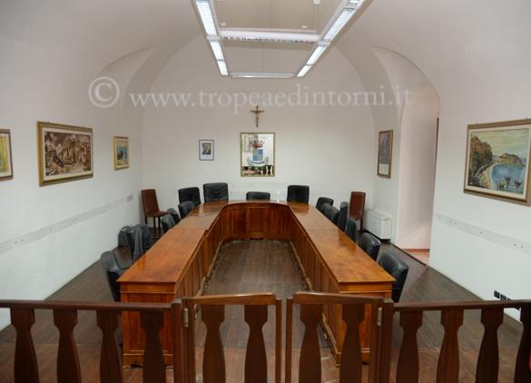 Sala del Consiglio di Palazzo S. Anna - foto Libertino