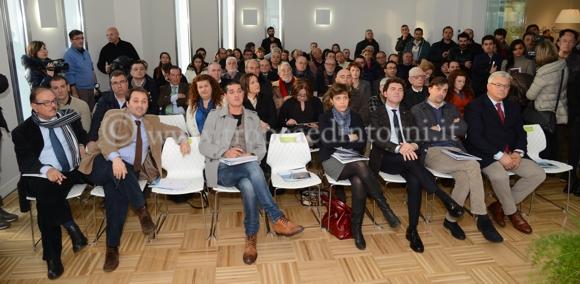 Convegno CISAL nei locali dell'azienda Romano Arti Grafiche - foto Libertino