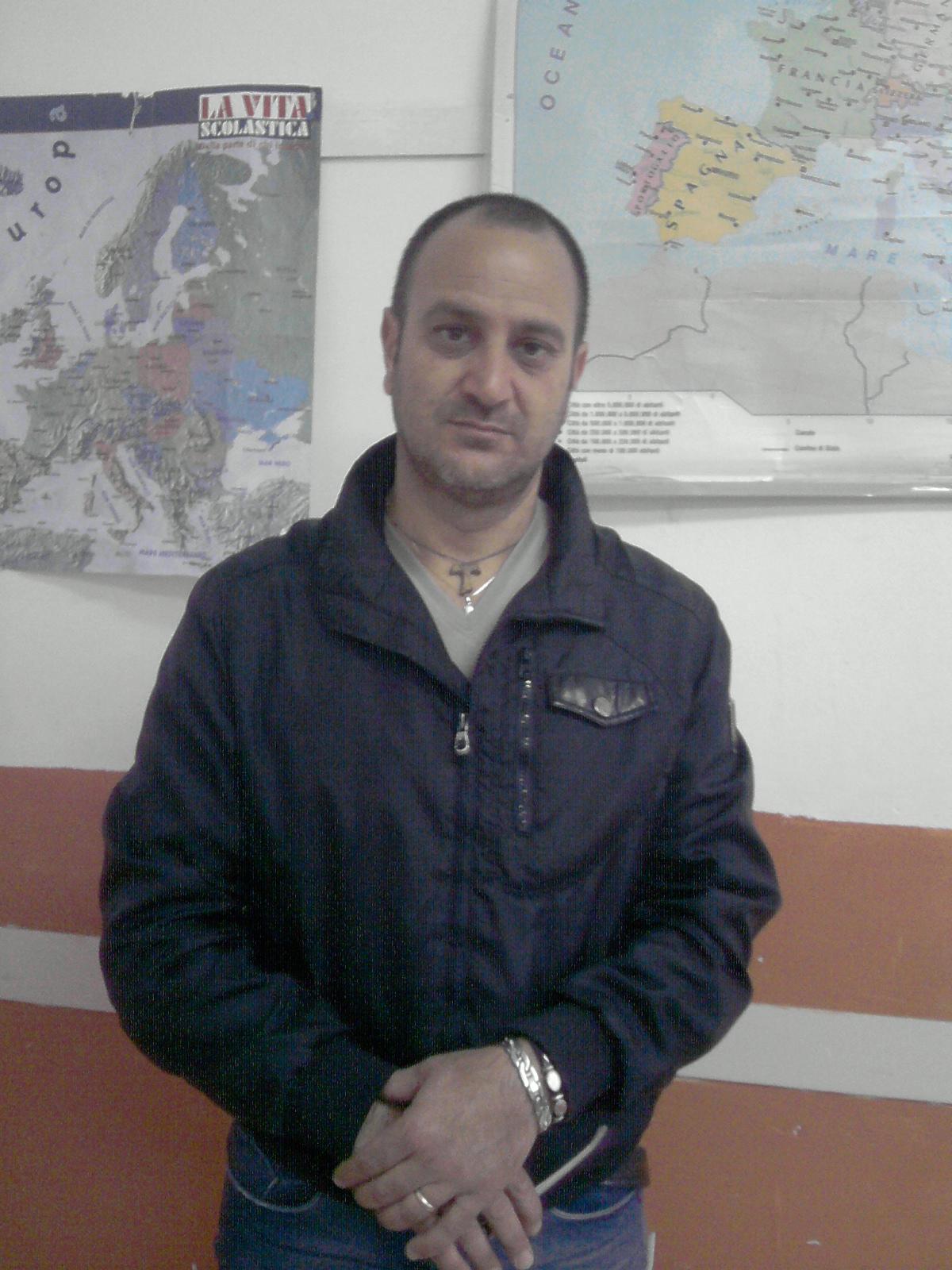 Il maestro Salvatore Braccio