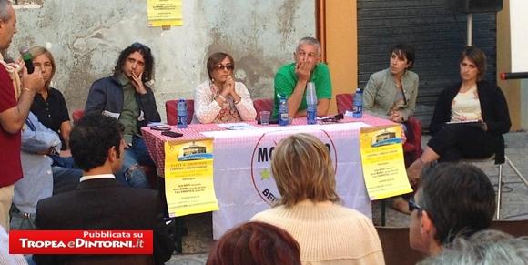San Giovanni in Fiore - Il tavolo dei relatori