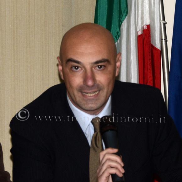 Sandro D'Agostino, Presidente del Consiglio Comunale di Tropea - foto Stroe