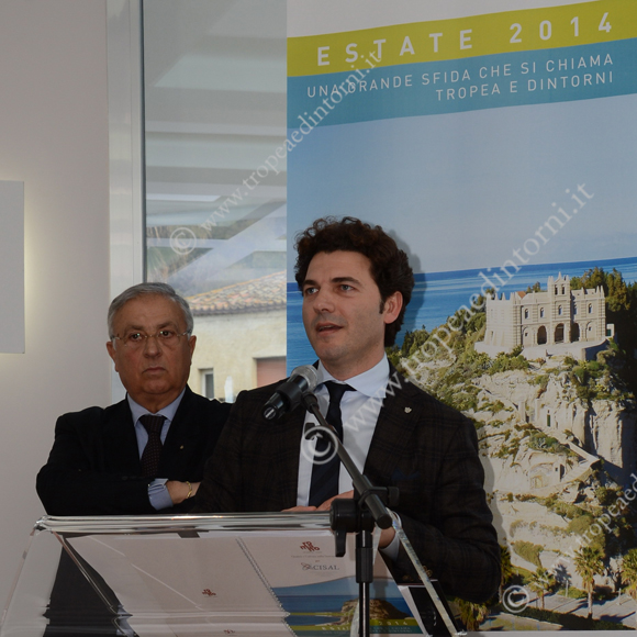 Giuseppe Sarlo. Mario Romano - foto Libertino