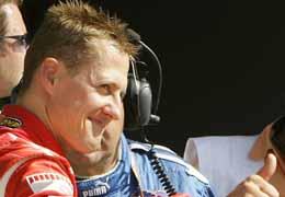 Schumacher vince il Gran Premio di Monza il 10 settembre 2006