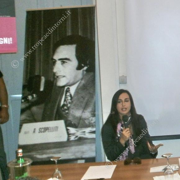 Rosanna Scopelliti al Liceo Scientifico di Tropea - foto Sorbilli