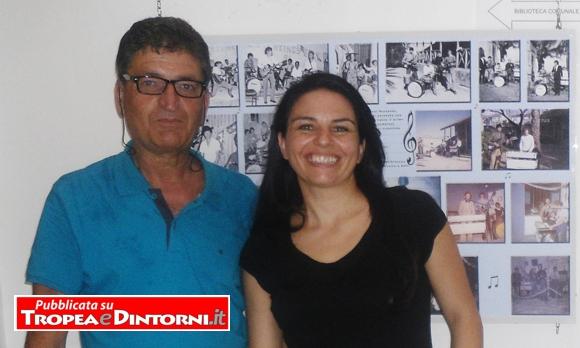 Pietro Scordamaglia con l'Assessore al Turismo e Cultura Dott.ssa Anna Sambiase