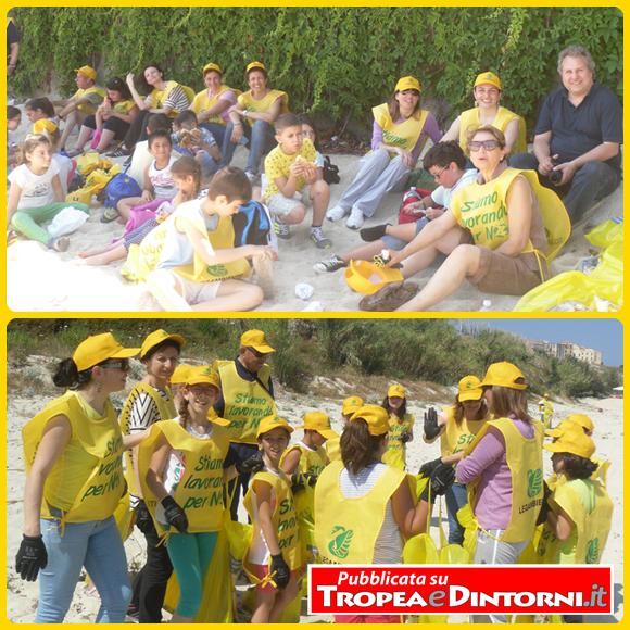 Un ultimo giorno di scuola diverso per i ragazzi della Scuola primaria di Parghelia, trascorso sulla spiaggia a contatto con la natura