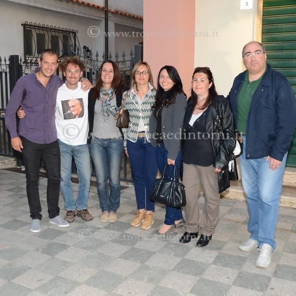 Il gruppo degli eletti: Staropoli, Ceravolo, Loiacono, Il Sindaco Maria Brosio, Sambiase, Scordamaglia, Molina - foto Libertino