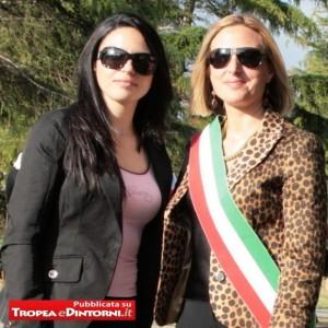 L'Assessore Anna Sambiase ed il Sindaco Maria Luisa Brosio