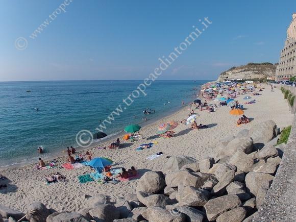 L'incantevole spiaggia - foto Libertino