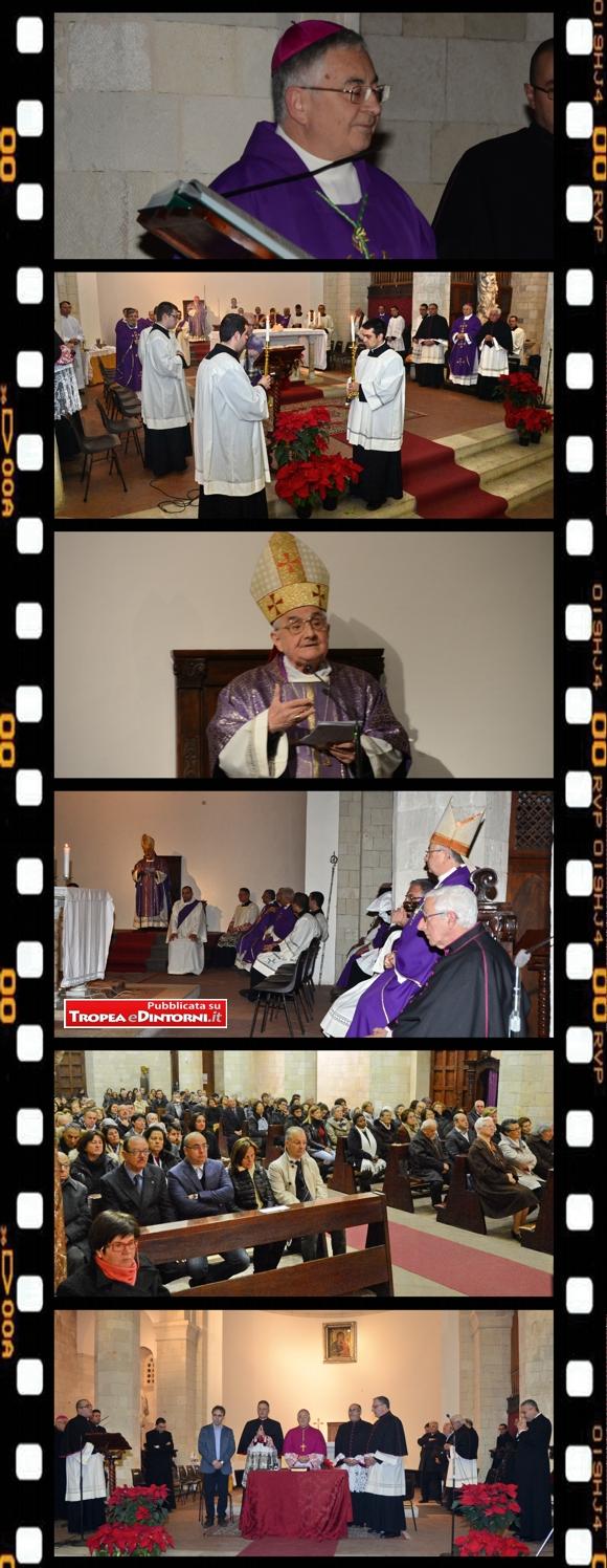 Nella Concattedrale di Tropea, alla presenza del clero locale - foto Libertino