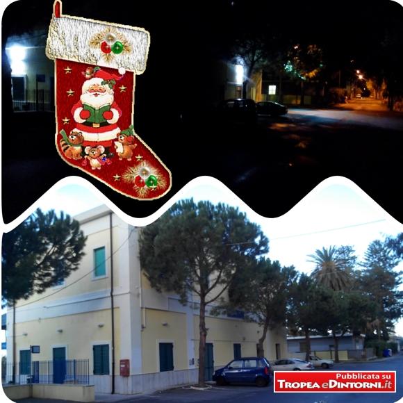 Il piazzale della stazione di Tropea, di Notte e di giorno
