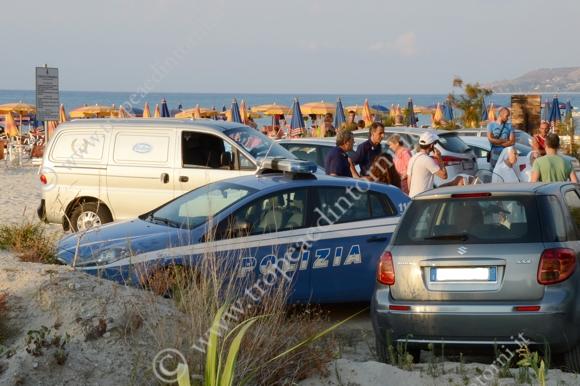 Tropea: spiaggia porto - foto Libertino