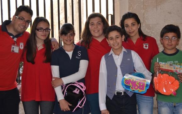 Alcuni dei partecipanti alla mostra che si è tenuta al museo diocesano di Tropea