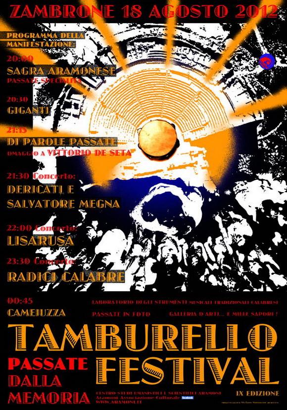 Tamburello Festival 2012