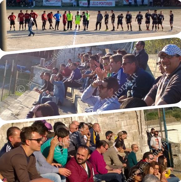 "La prima partita del torneo ""Lello Pontorieri 2014"" - foto Calamita"