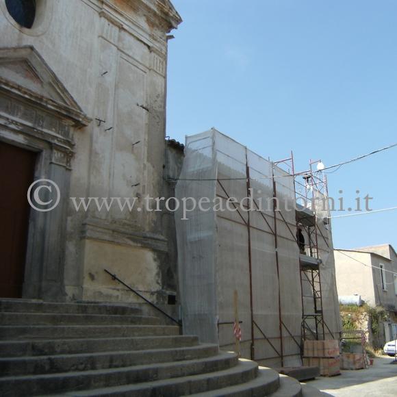 La sagrestia della Chiesa del Carmine - foto Taccone
