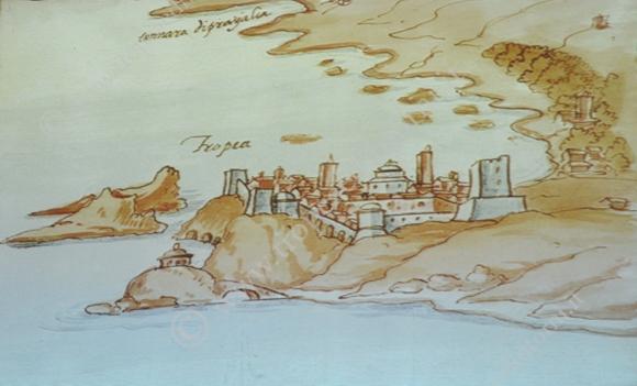 """Tropea Tratta dal """"Codice Romano Carratelli"""" - foto Stroe"""