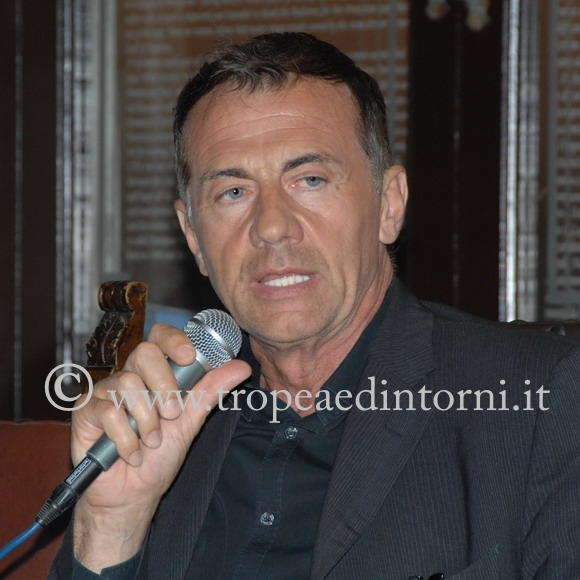 Michele Cucuzza a Tropea - foto Libertino